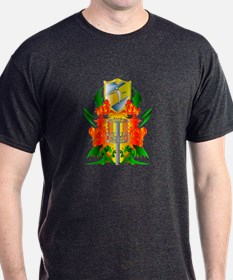 Color Disc Golf Coat of Arms T-Shirt