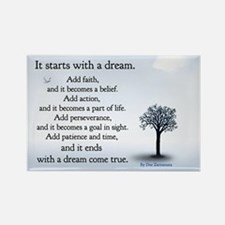 It starts with a dream Magnet