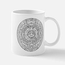 Aztec Sun Stone Calendar Mug