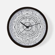 Aztec Sun Stone Calendar Wall Clock