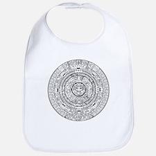 Aztec Sun Stone Calendar Bib
