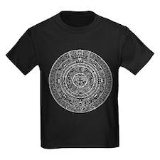 Aztec Sun Stone Calendar T