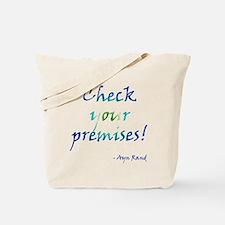 Check Your Premises Tote Bag