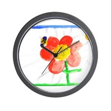 Unique Bee art Wall Clock