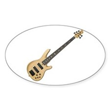 Cute Bass guitar Decal