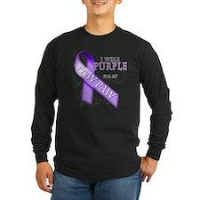 I Wear Purple for my Paw Paw T
