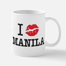 """""""I (muah) MANILA"""" Mug"""