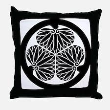Mitsuba aoi (B) Throw Pillow