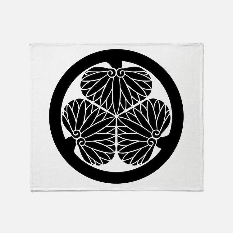 Mitsuba aoi (B) Throw Blanket