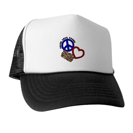 P,L,Bacon Trucker Hat