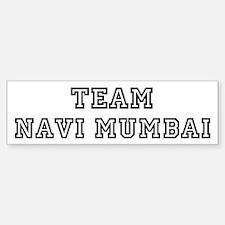 Team Navi Mumbai Bumper Bumper Bumper Sticker