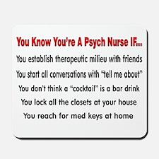 Registered Nurse IV Mousepad