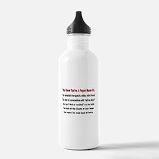 Registered Nurse IV Water Bottle