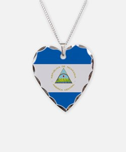 Flag of Nicaragua Necklace