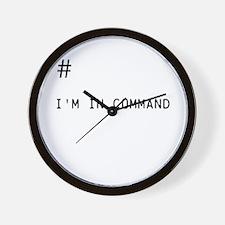 Command # Wall Clock