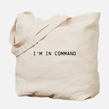 Command # Tote Bag