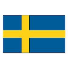 Sweden World Flag Bumper Bumper Stickers