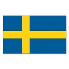 Sweden World Flag Bumper Stickers