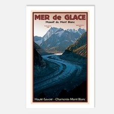 Mer de Glace Postcards (Package of 8)