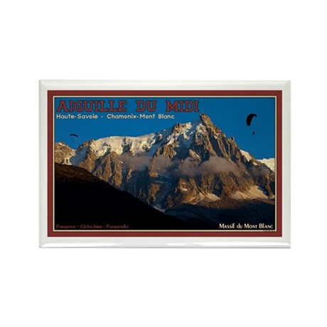 Chamonix Paragliders Rectangle Magnet (10 pack)