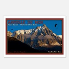 Chamonix Paragliders Postcards (Package of 8)