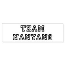 Team Nanyang Bumper Bumper Sticker