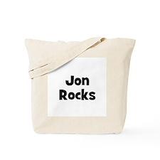 Jon Rocks Tote Bag
