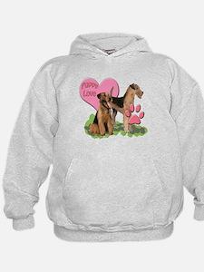iredale terrier Puppy Love Hoodie