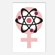 Female Scientist Postcards (Package of 8)