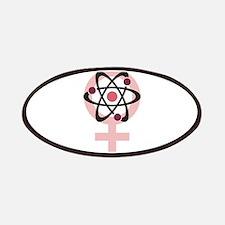 Female Scientist Patches