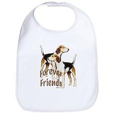 forever friends foxhound Bib