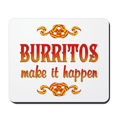 Burritos Mousepad
