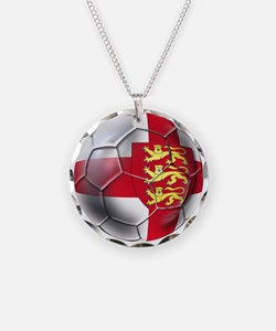 Three Lions Football Necklace