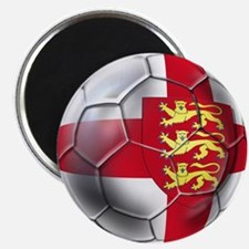 Three Lions Football Magnet