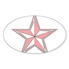 Nautical Star Pink Decal
