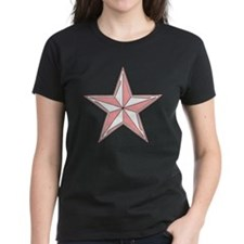Nautical Star Pink Tee