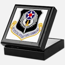 AF Spec Ops Command Keepsake Box