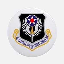AF Spec Ops Command Ornament (Round)