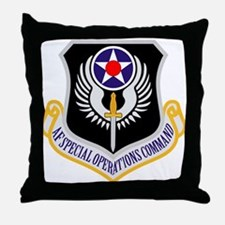 AF Spec Ops Command Throw Pillow