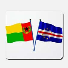 Cape Verde Flags Mousepad