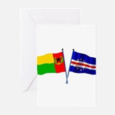 Cape Verde Flags Greeting Cards (Pk of 10)