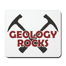 Geology Rocks Mousepad