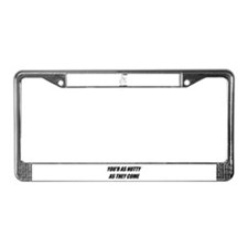 I'M NUTS ABOUT SQUIRRELS License Plate Frame
