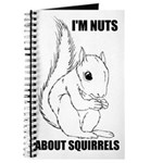 I'M NUTS ABOUT SQUIRRELS Journal