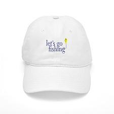 Let's go fishing (jig) Baseball Cap