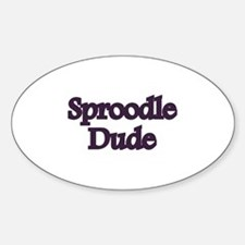 Sproodle Dude Decal