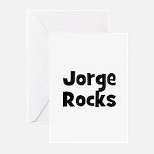 Jorge Rocks Greeting Cards (Pk of 10)