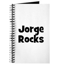 Jorge Rocks Journal