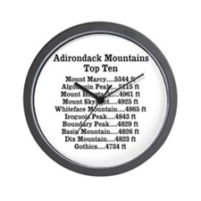 ADK Top Ten Wall Clock