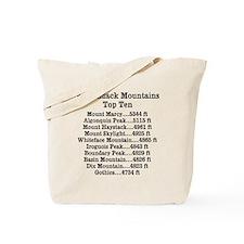 ADK Top Ten Tote Bag